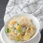 Crab Meat Fried Rice with Coriander & Lime